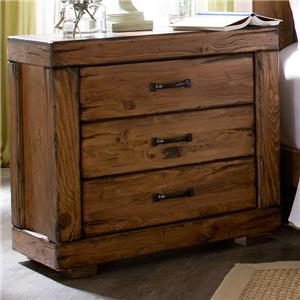 Progressive Furniture Maverick 3 Drawer Nightstand