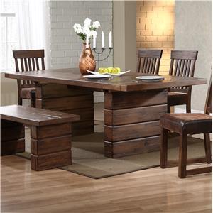 Progressive Furniture Maverick Rectangle Dining Table