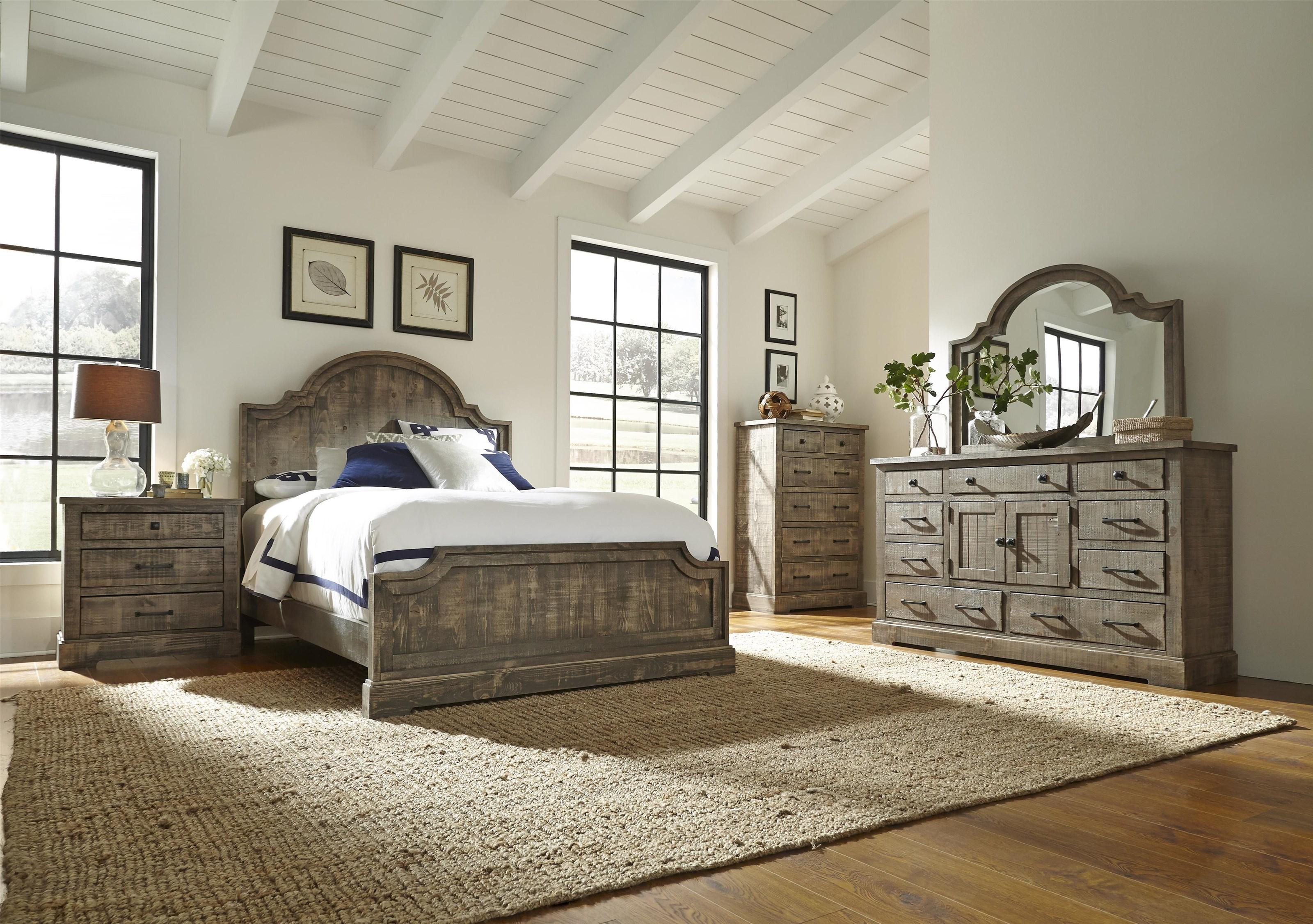 Progressive Furniture Meadow P632-94-95-78-24-50-2x43-14 8 Piece ...