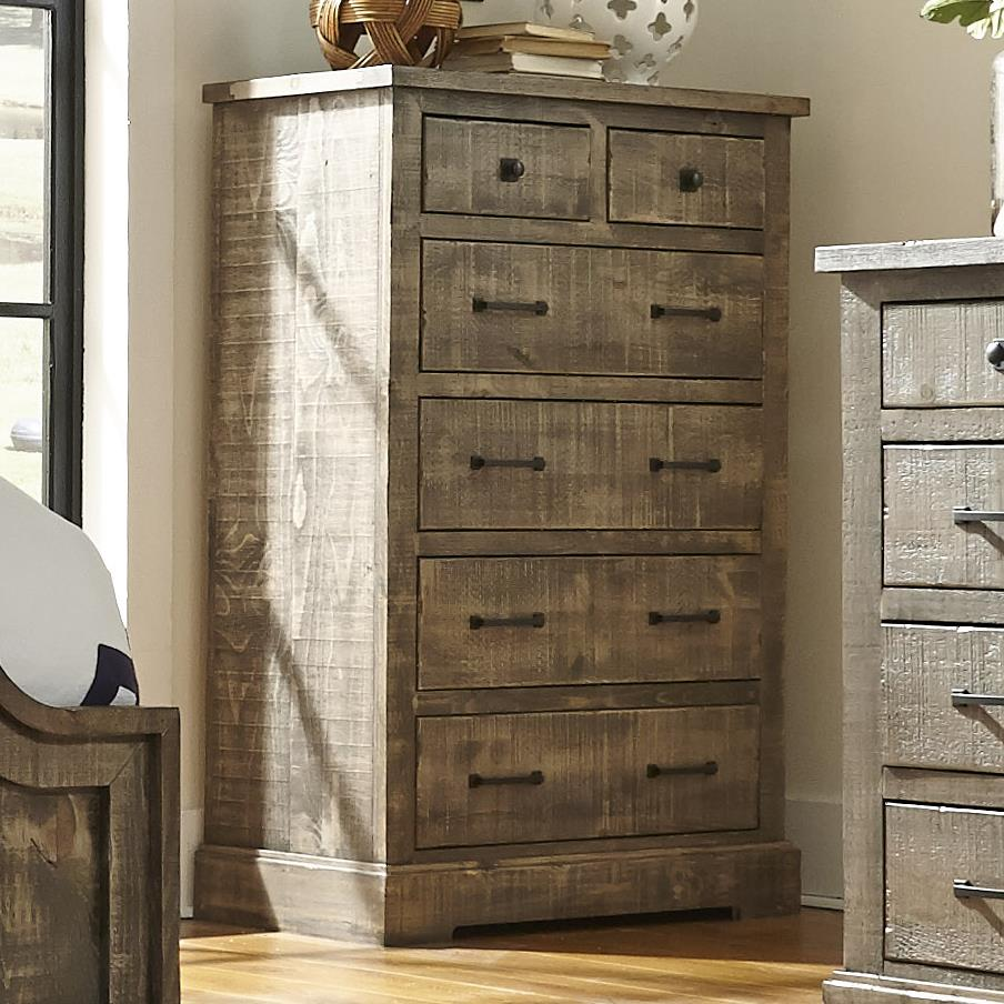Progressive Furniture Meadow Drawer Chest - Item Number: P632-14