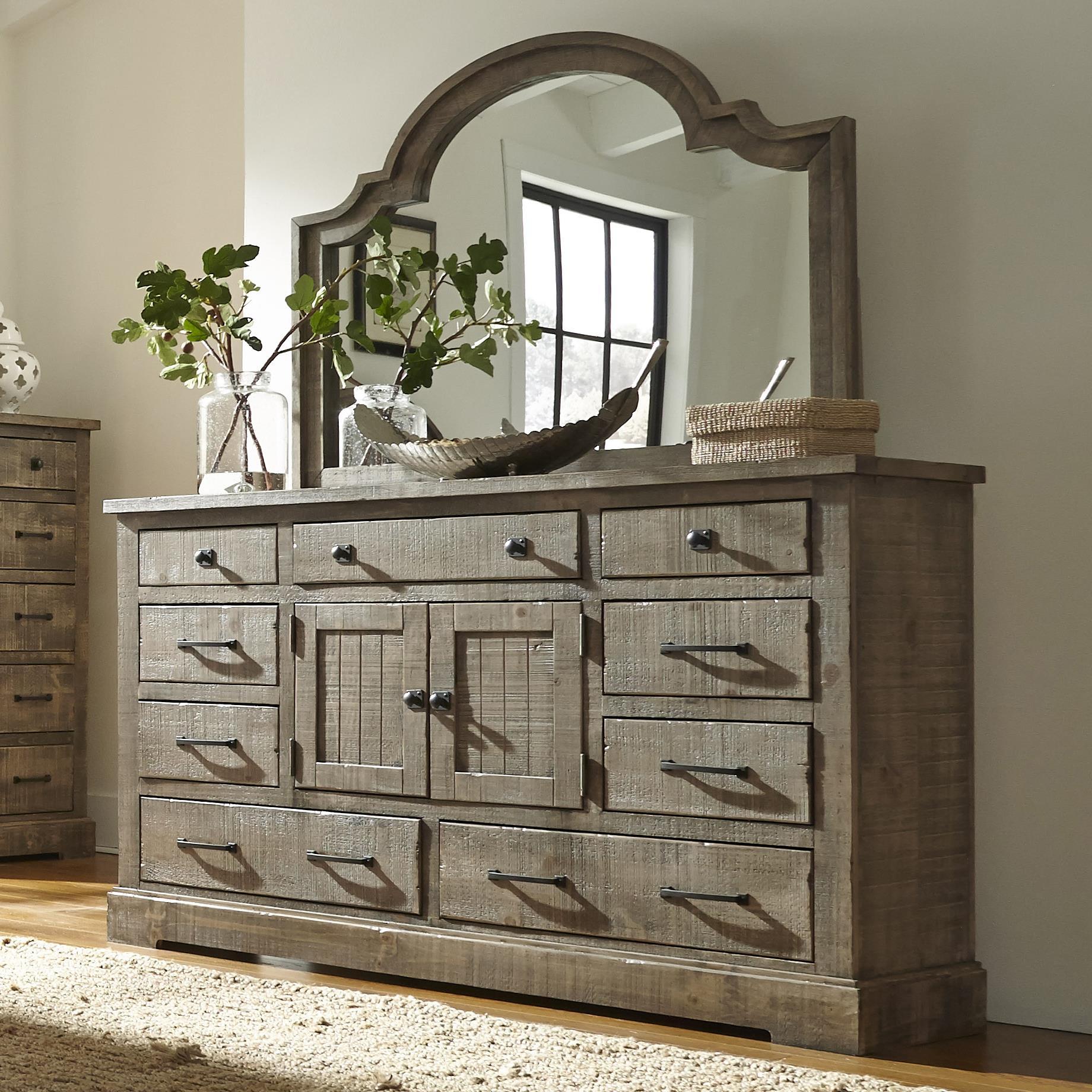 Progressive Furniture Meadow Door Dresser - Item Number: P632-24+50