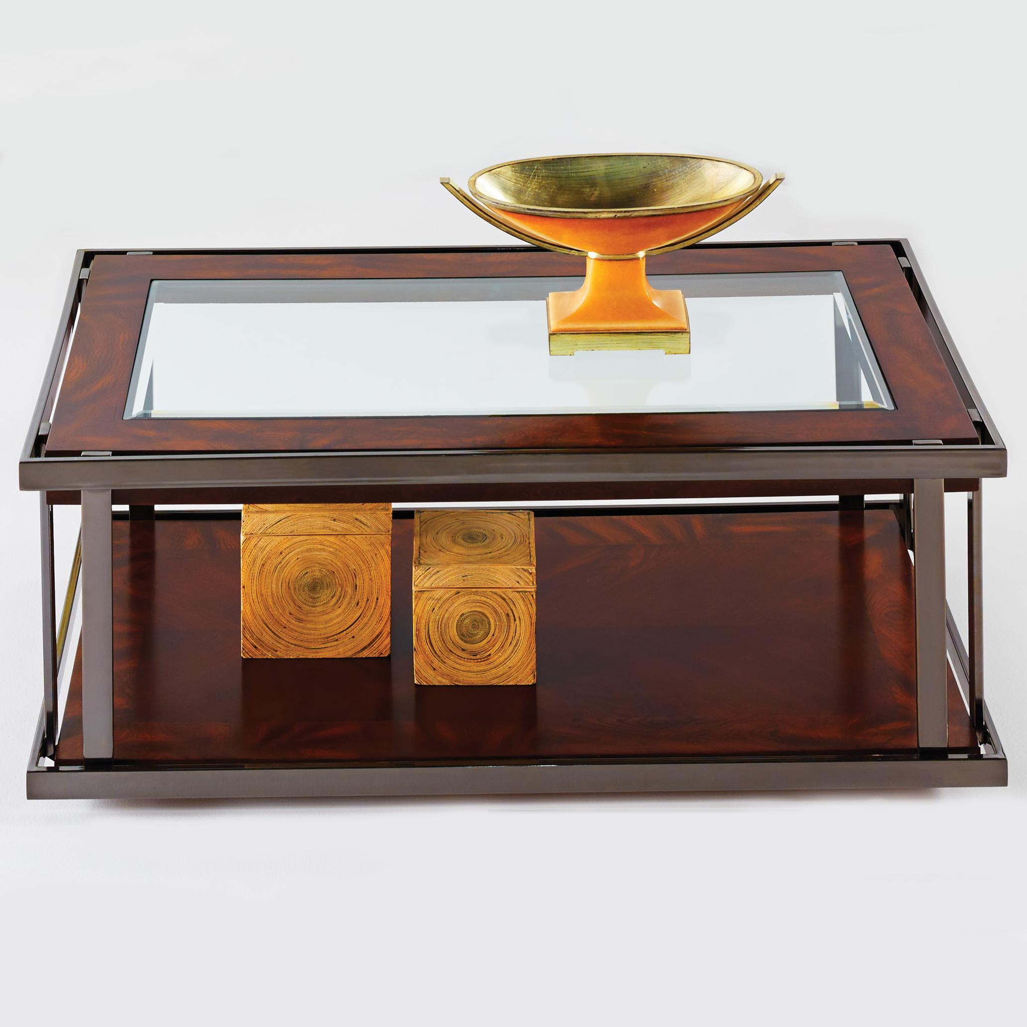 Progressive Furniture Medalist Castered Cocktail Table - Item Number: P350-01