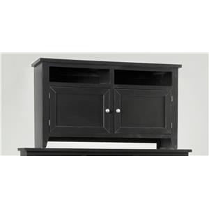 "Progressive Furniture Metro Metro 54"" Black TV Stand"