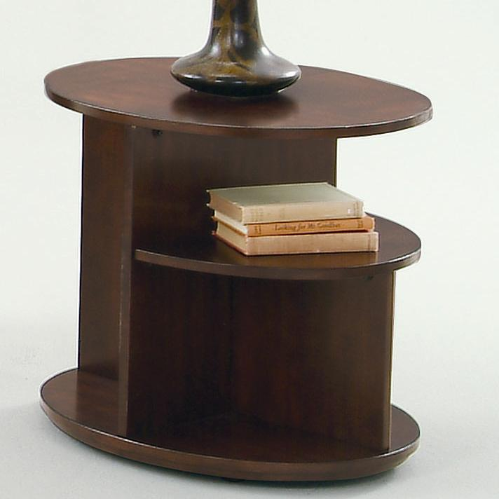 Progressive Furniture Metropolitan  Oval End Table - Item Number: P474-03