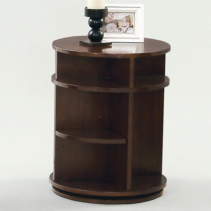 Progressive Furniture Metropolitan  Swivel/Chairside Table - Item Number: P474-29