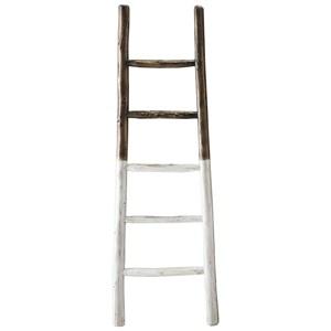 French Roast/White Blanket Ladder