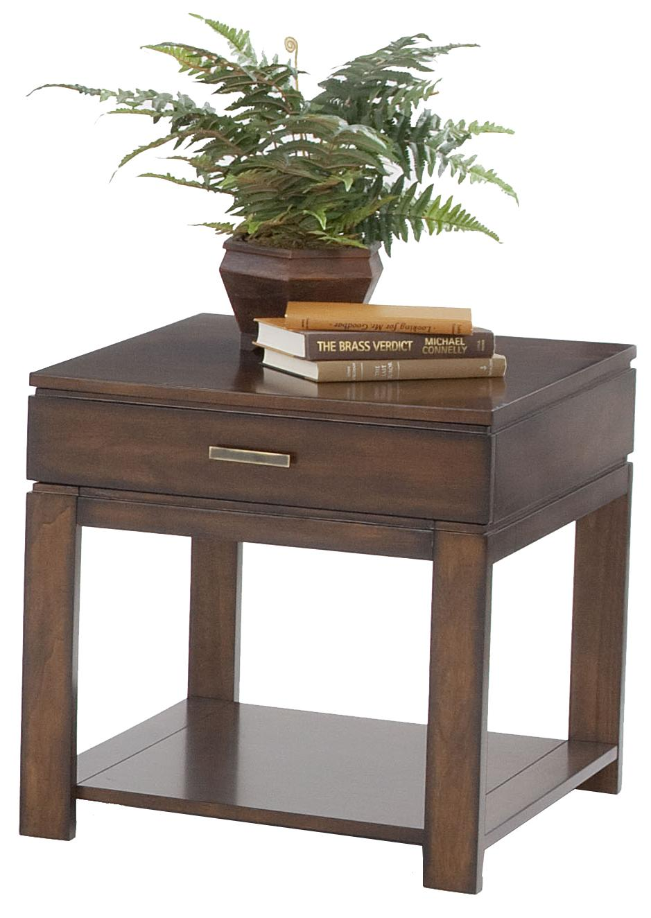 Progressive Furniture Miramar Birch End Table - Item Number: P412-04