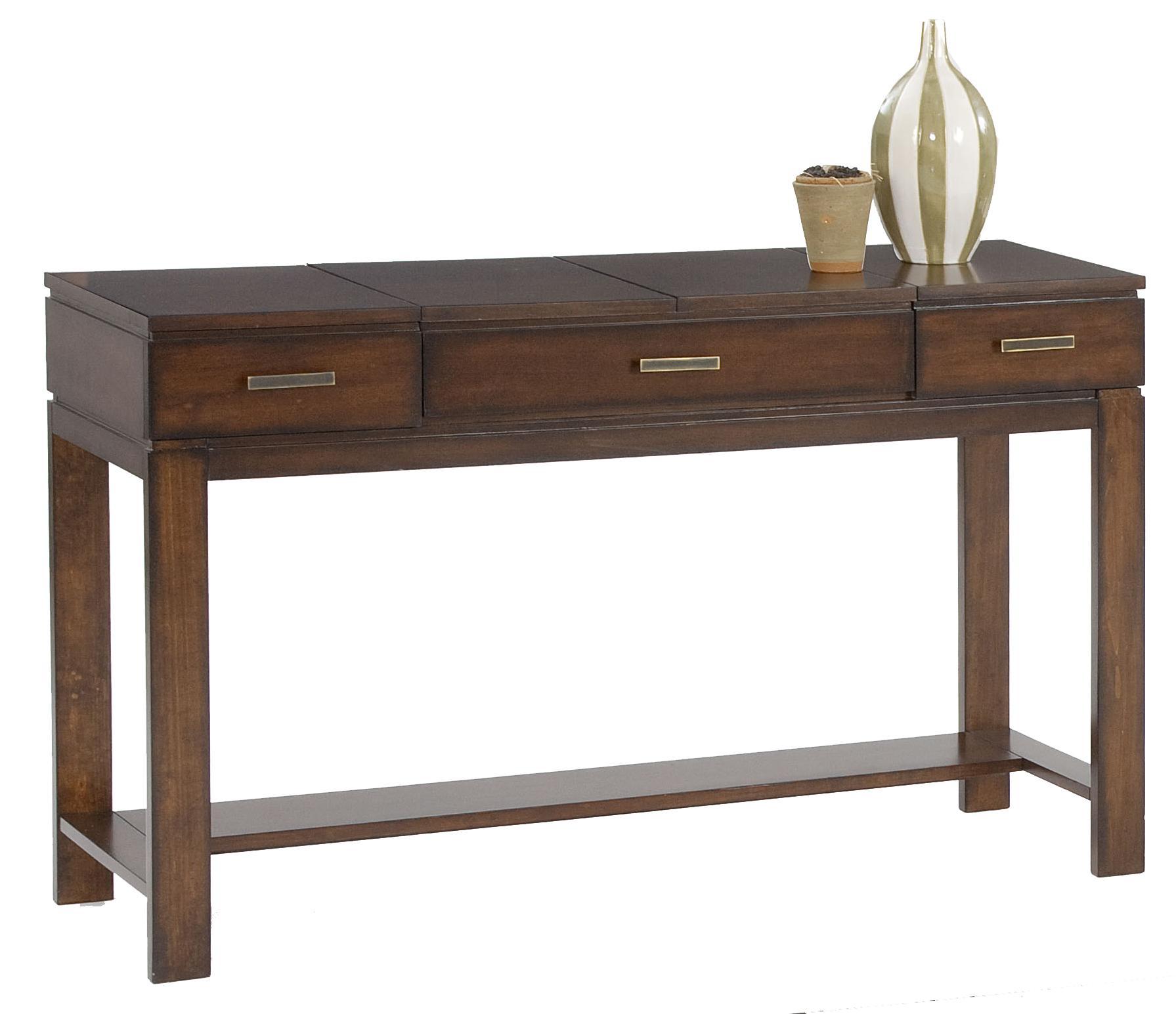 Progressive Furniture Miramar Sofa Table / Desk - Item Number: P412-05