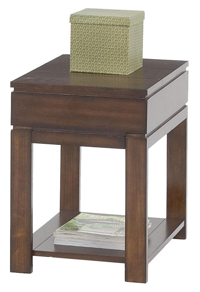Progressive Furniture Miramar Storage Chairside Table - Item Number: P412-29
