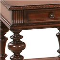 Progressive Furniture Mountain Manor Rectangular End Table - Decorative Detail