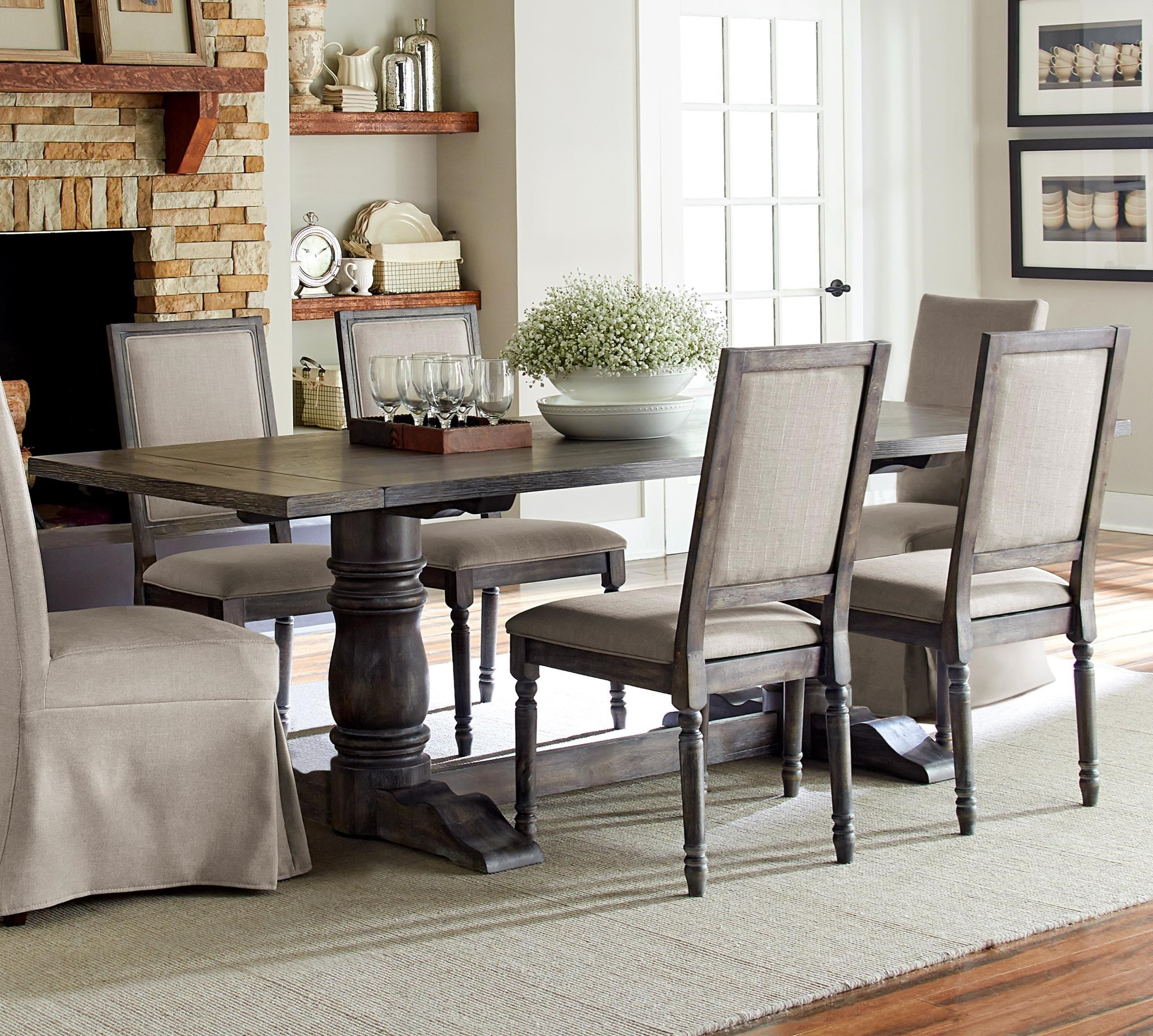 Progressive Furniture Muses Rectangular Dining Table With Turned