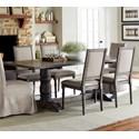 Progressive Furniture Muses Rectangular Dining Table - Item Number: P836-10B+10T