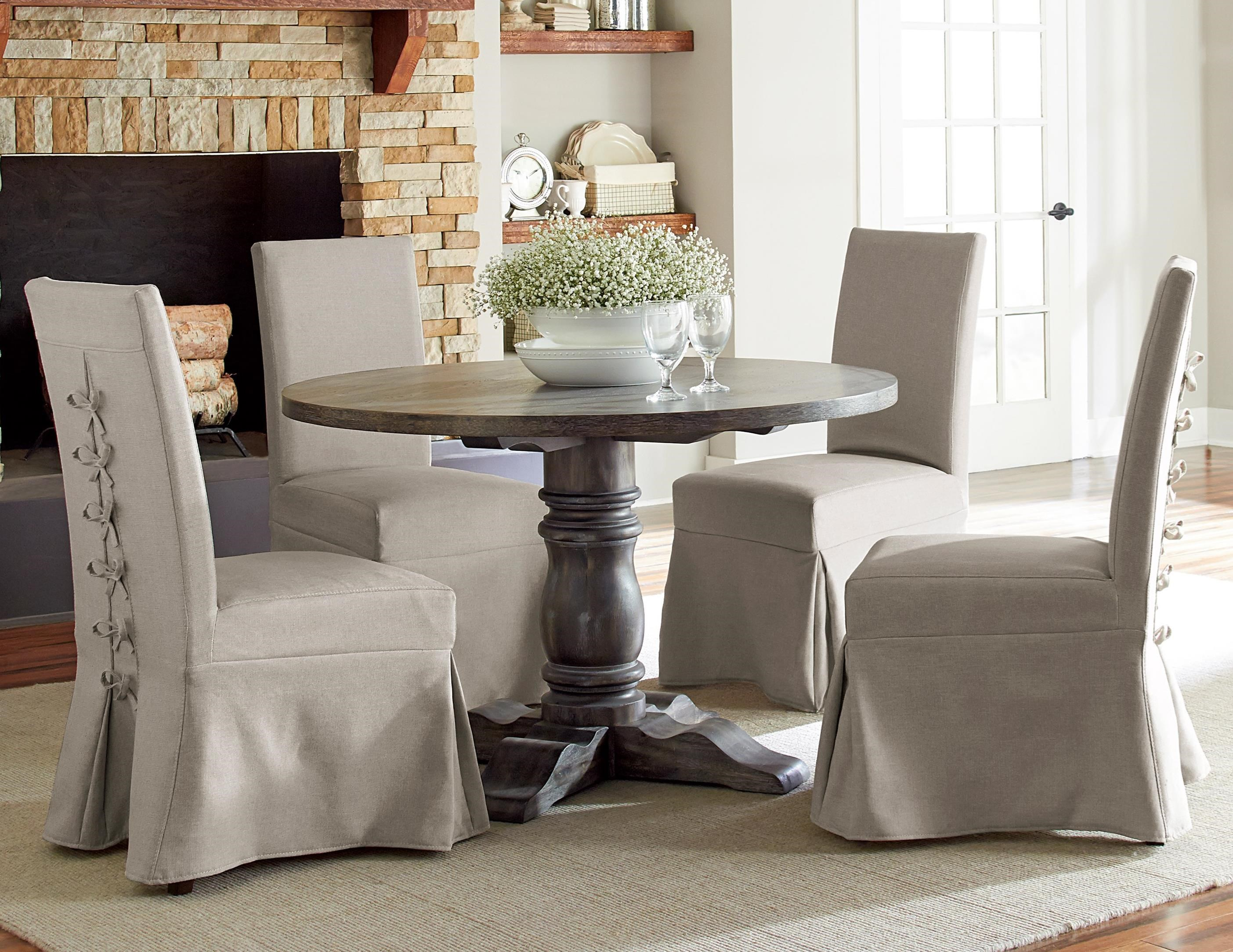 Progressive furniture muses 5 piece round dining table set item number p836