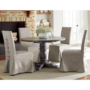 5-Piece Round Dining Table Set
