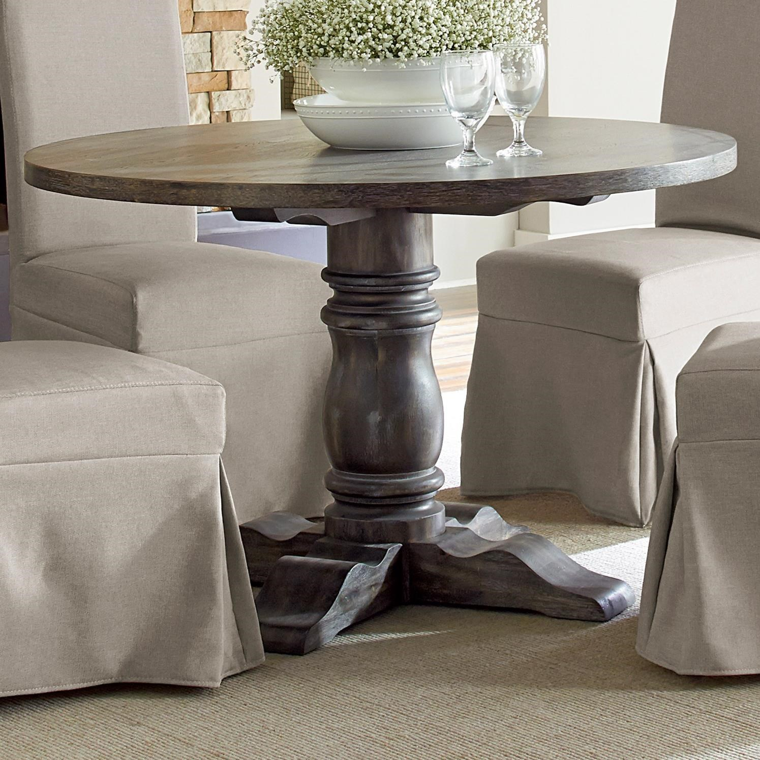 Progressive Furniture Muses Round Dining Table With Turned