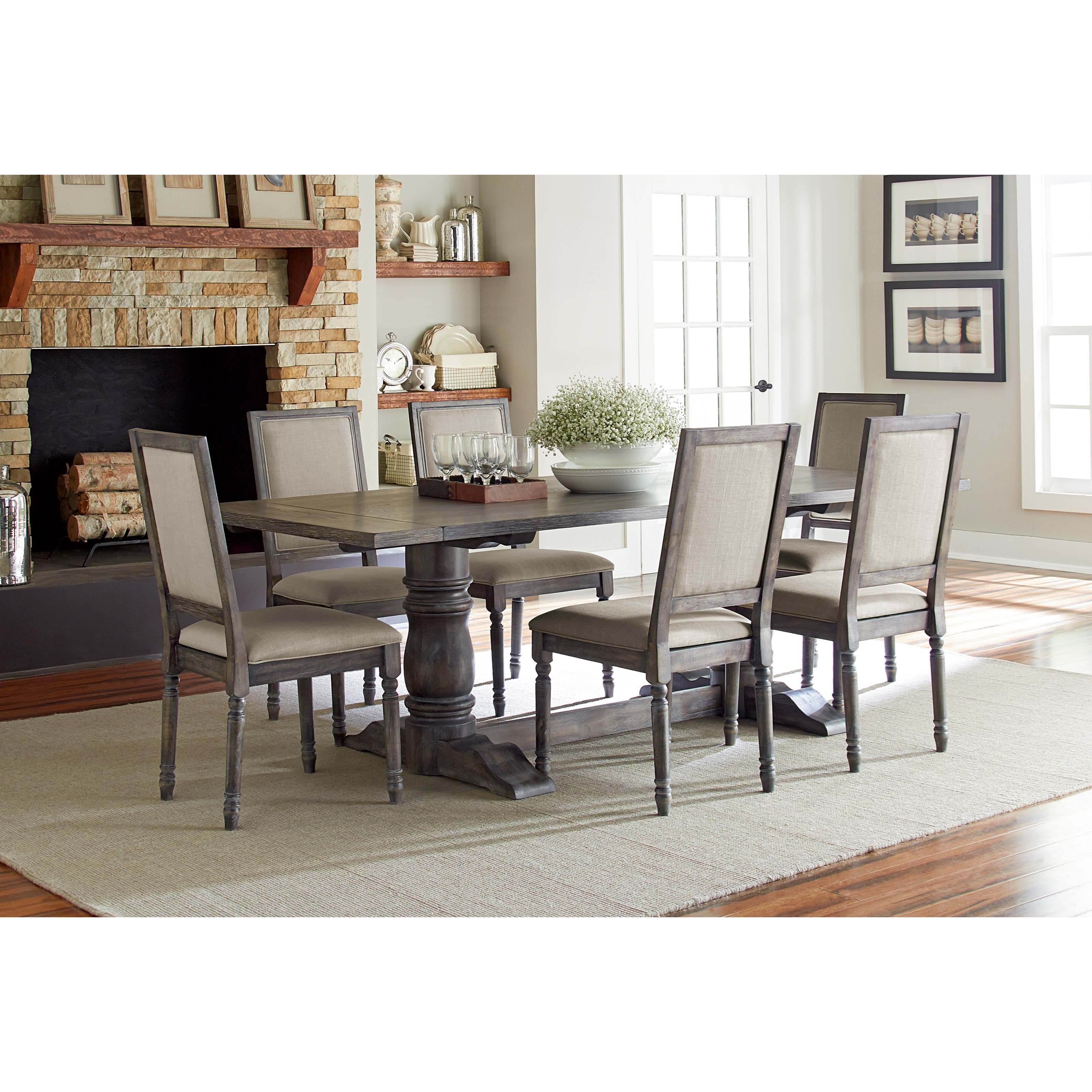 Progressive Furniture Muses P836 65 Upholstered Back Chair Hudson 39 S Furniture Dining Side Chairs