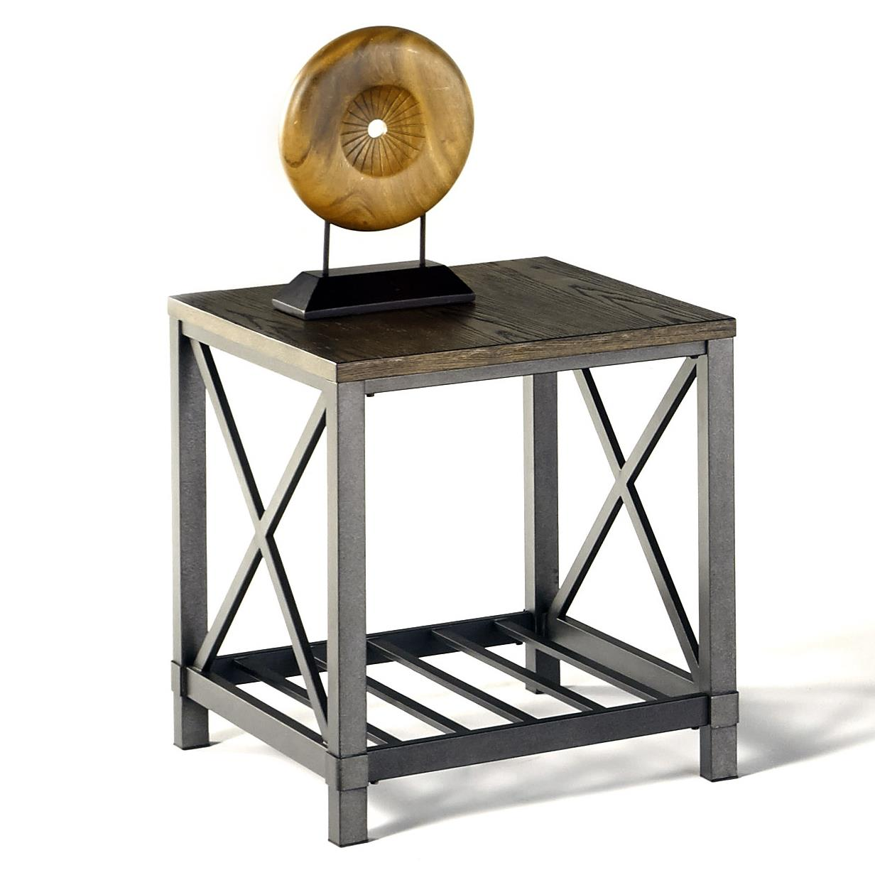 Progressive Furniture Oak Hill Rectangular End Table - Item Number: P359-04