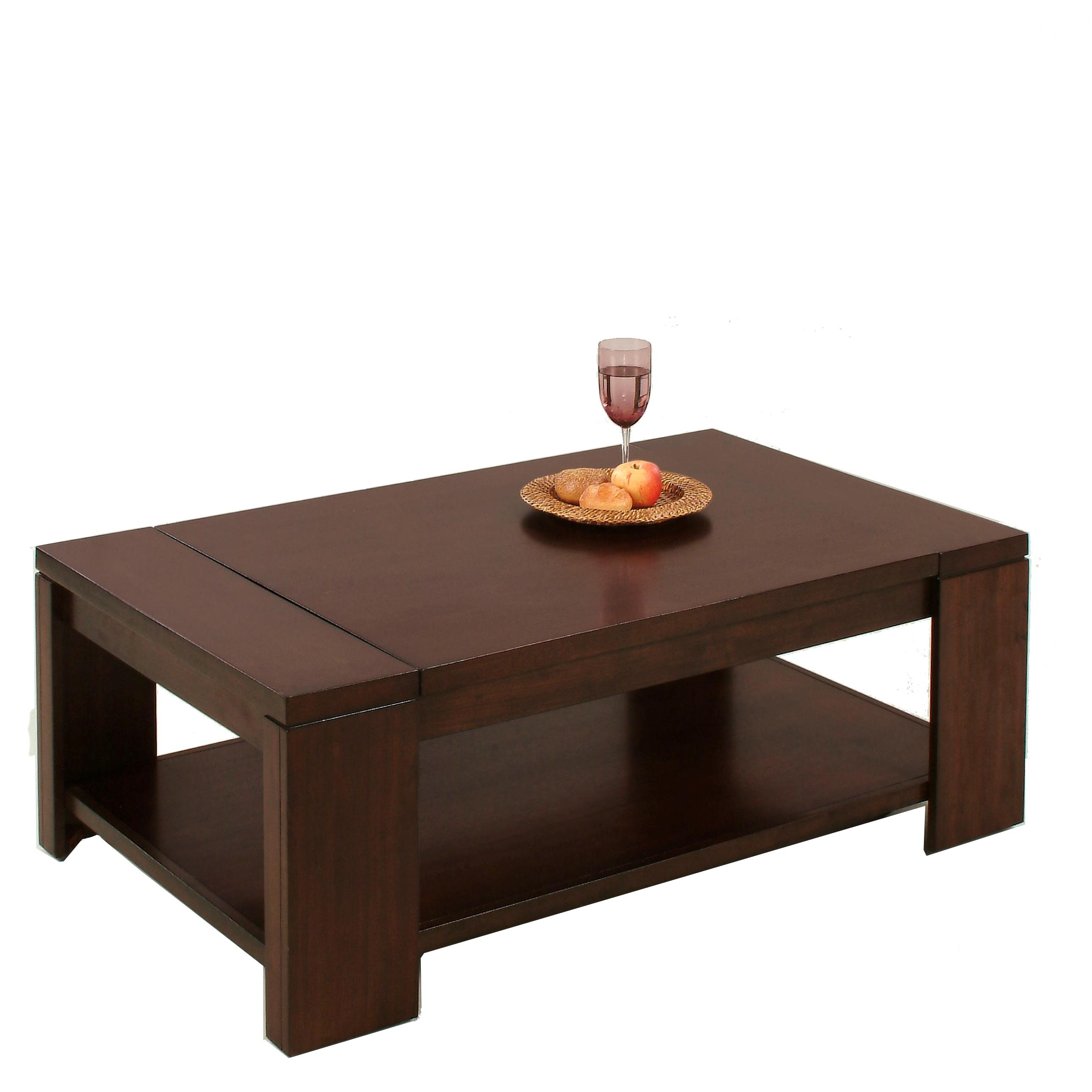 Progressive Furniture Waverly Rectangular Cocktail Table - Item Number: P368-01