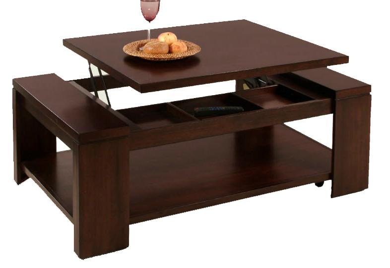 Lift-Top Cocktail Table