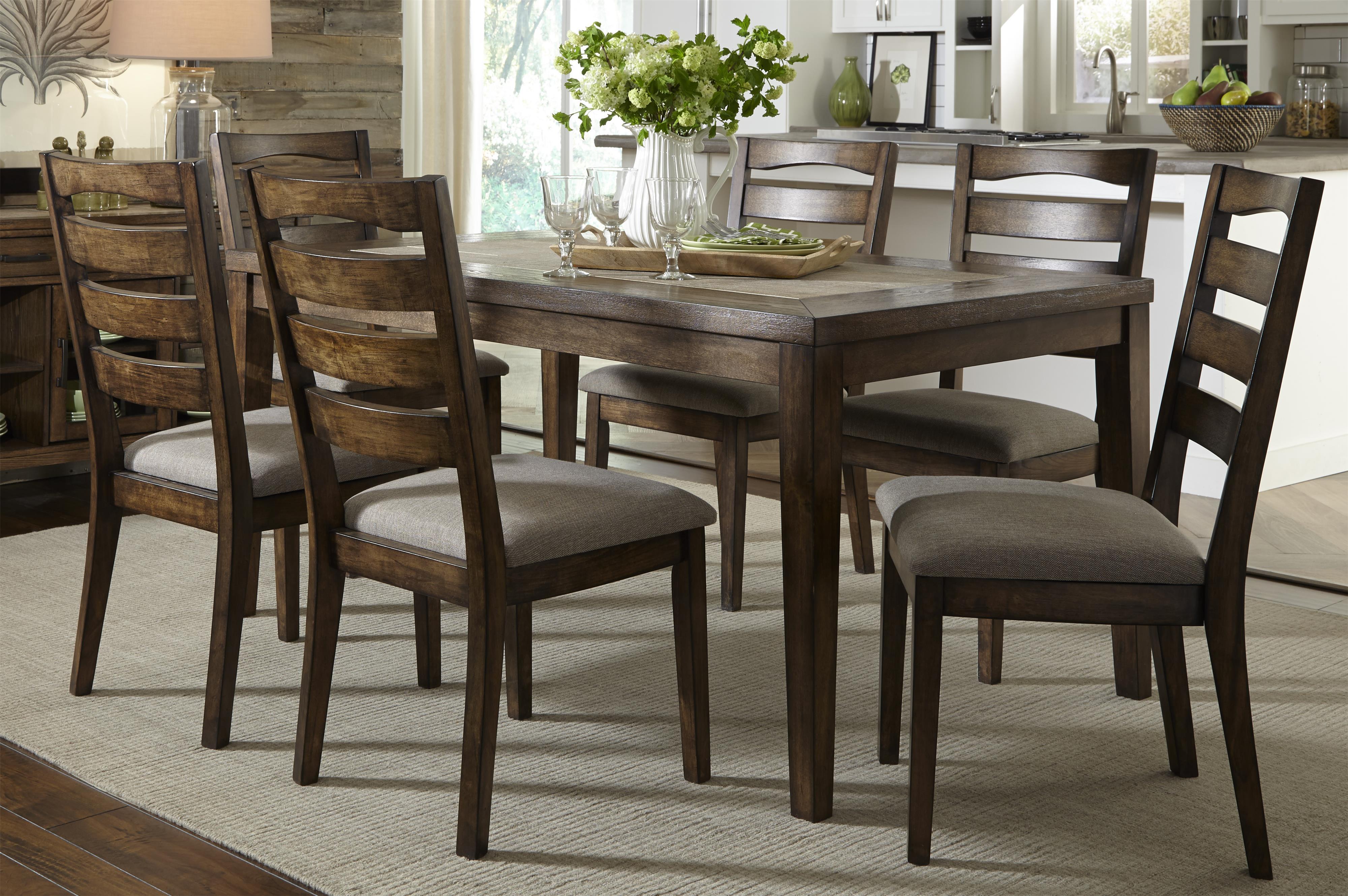 Progressive Furniture Forest Brook Dining Table - Item Number: P378D-10