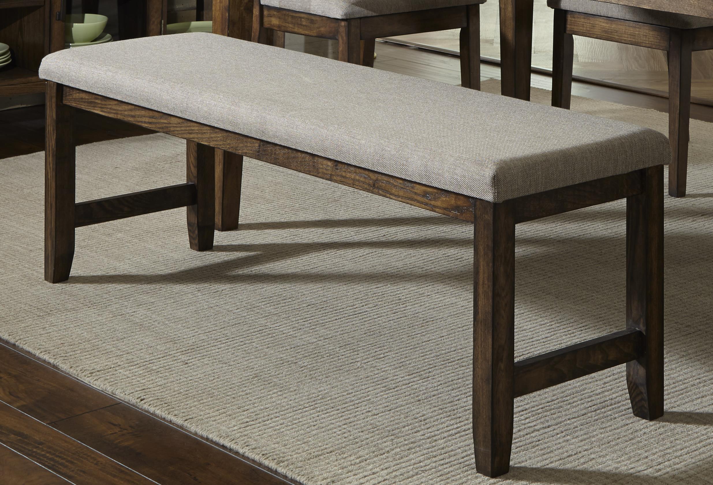 Progressive Furniture Forest Brook Dining Bench - Item Number: P378D-69