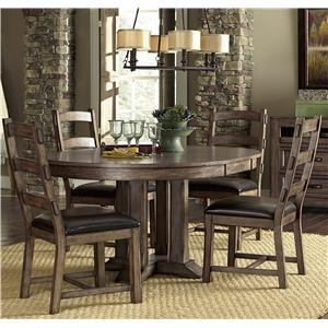 Progressive Furniture Boulder Creek Dining Table and Chair Set