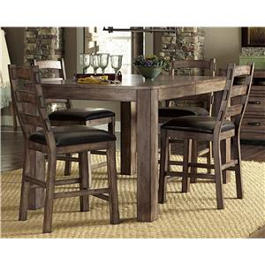 Progressive Furniture Boulder Creek Dining Counter Table