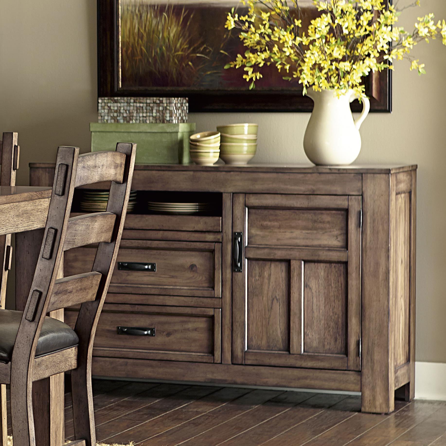 Progressive Furniture Boulder Creek Server - Item Number: P849-56