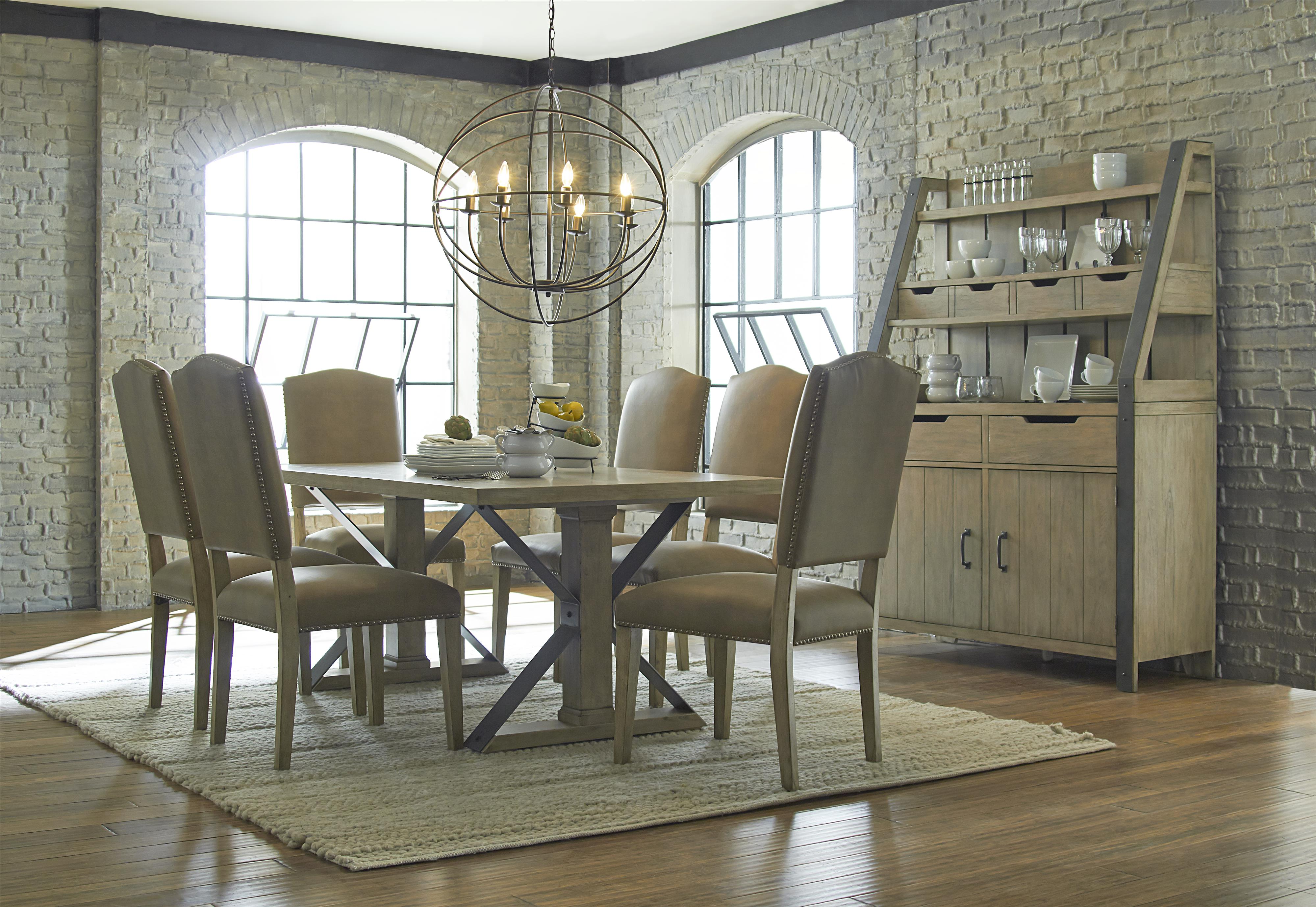 Progressive Furniture Shenandoah Casual Dining Room Group - Item Number: P870-10+6x61+83+82