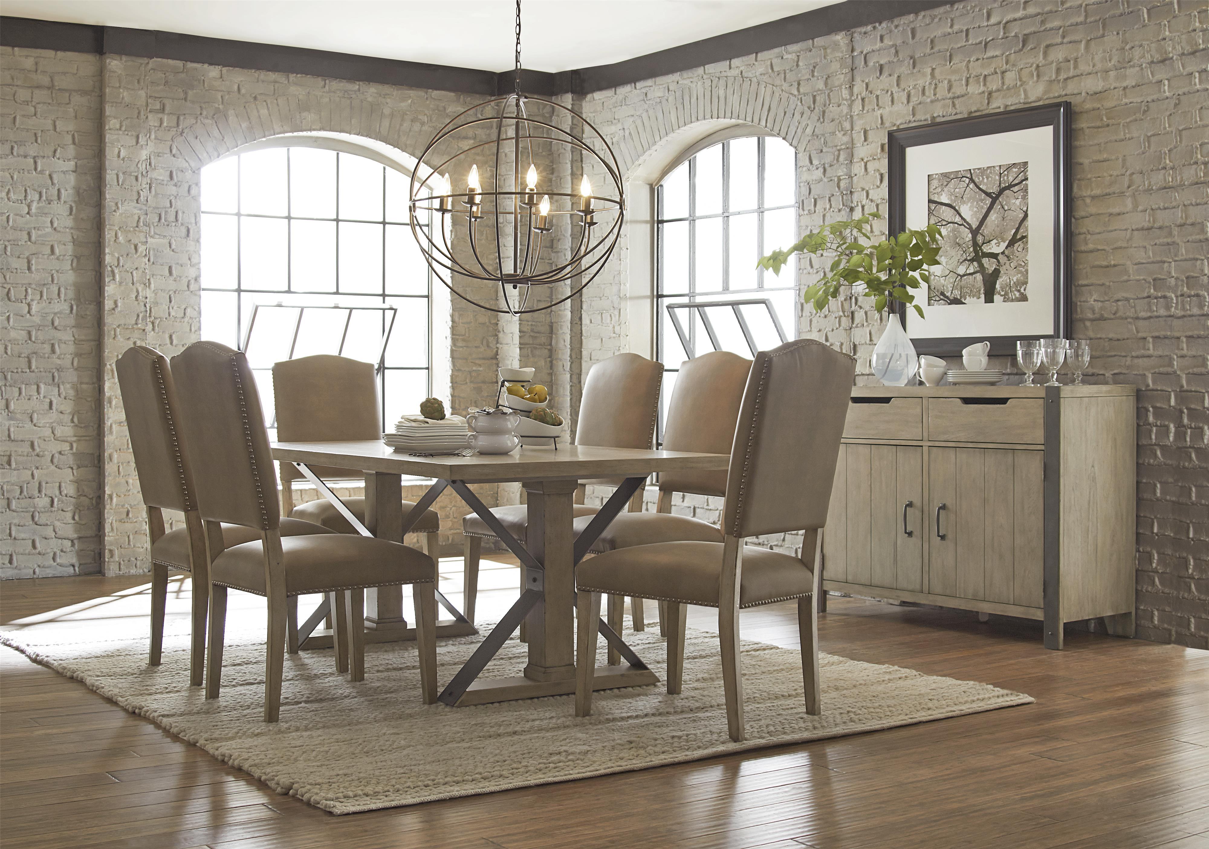 Progressive Furniture Shenandoah Casual Dining Room Group - Item Number: P870-10+6x61+83