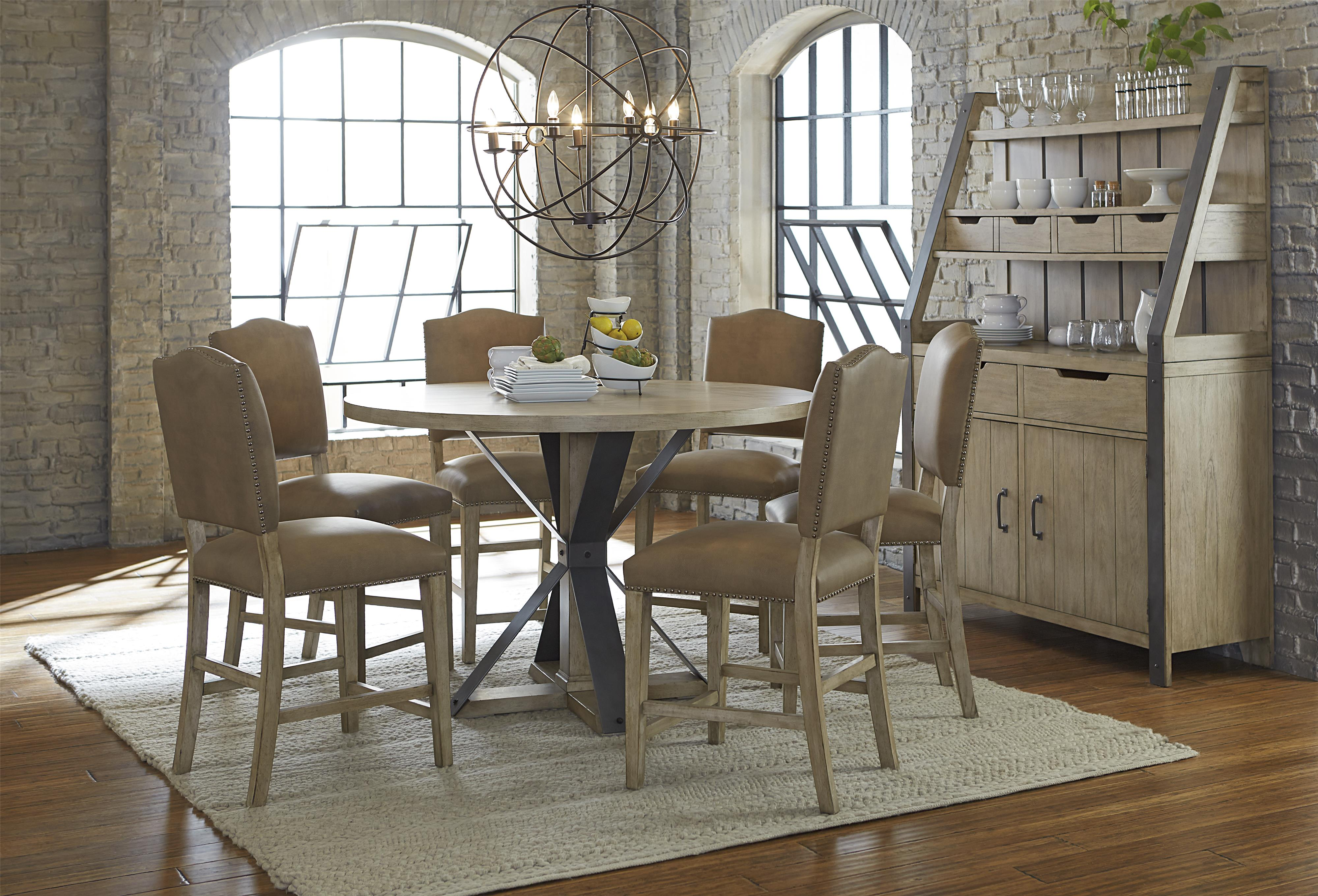 Progressive Furniture Shenandoah Casual Dining Room Group - Item Number: P870-12+6x63+83+82