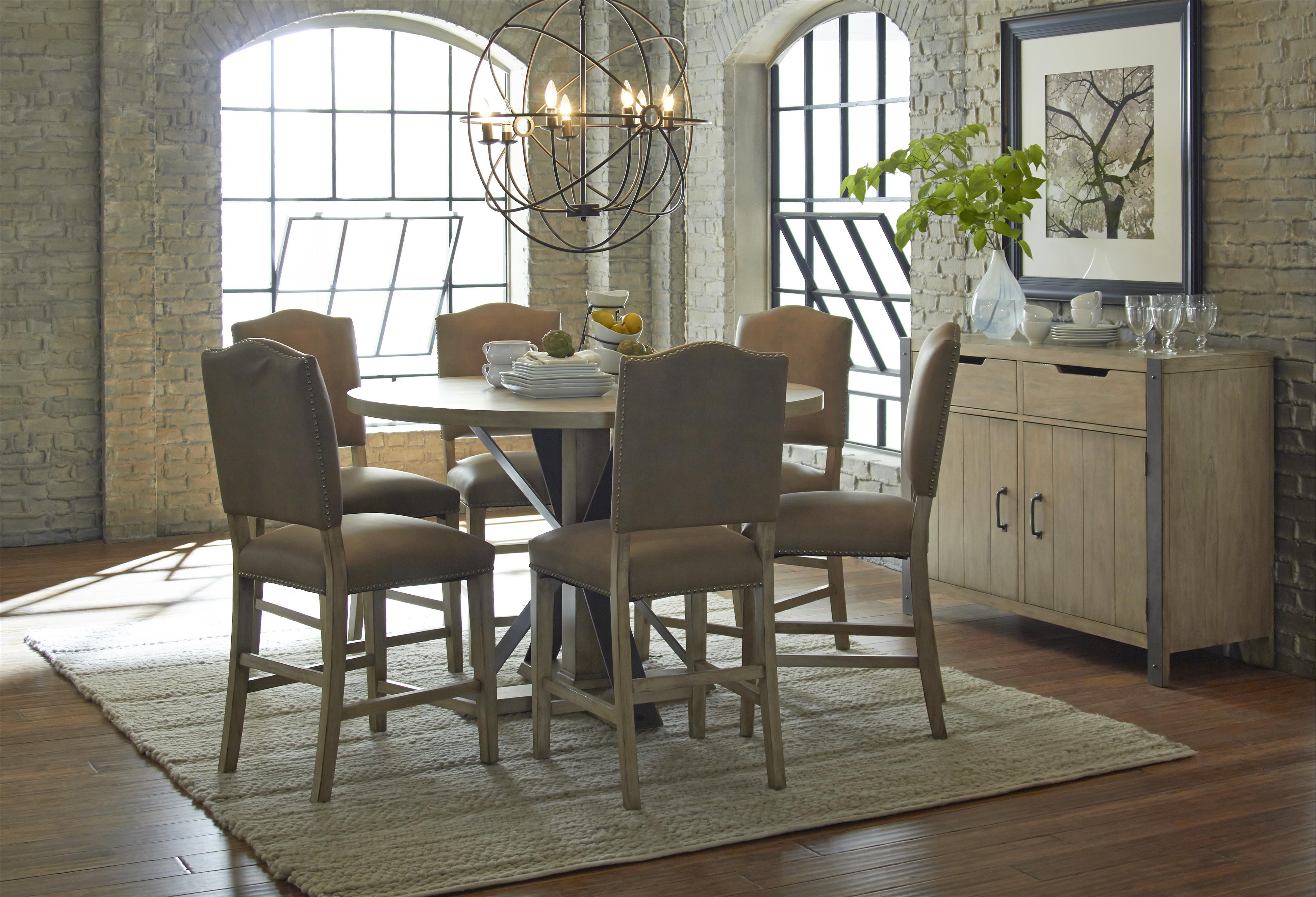 Progressive Furniture Shenandoah Casual Dining Room Group - Item Number: P870-12+6x63+83