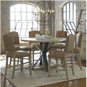 Progressive Furniture Shenandoah Table and Chair Set - Item Number: P870-12+6x63