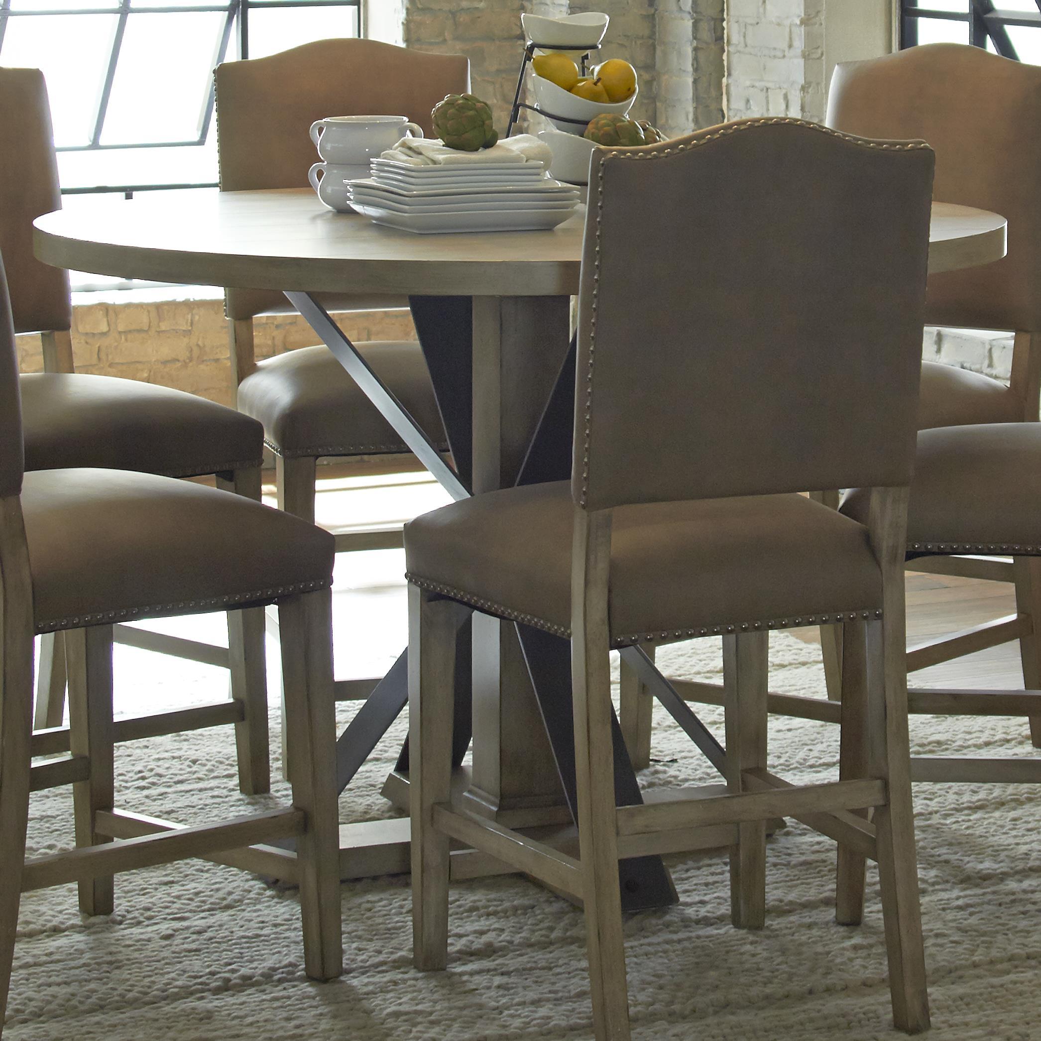 Progressive Furniture Shenandoah Round Counter Table - Item Number: P870-12