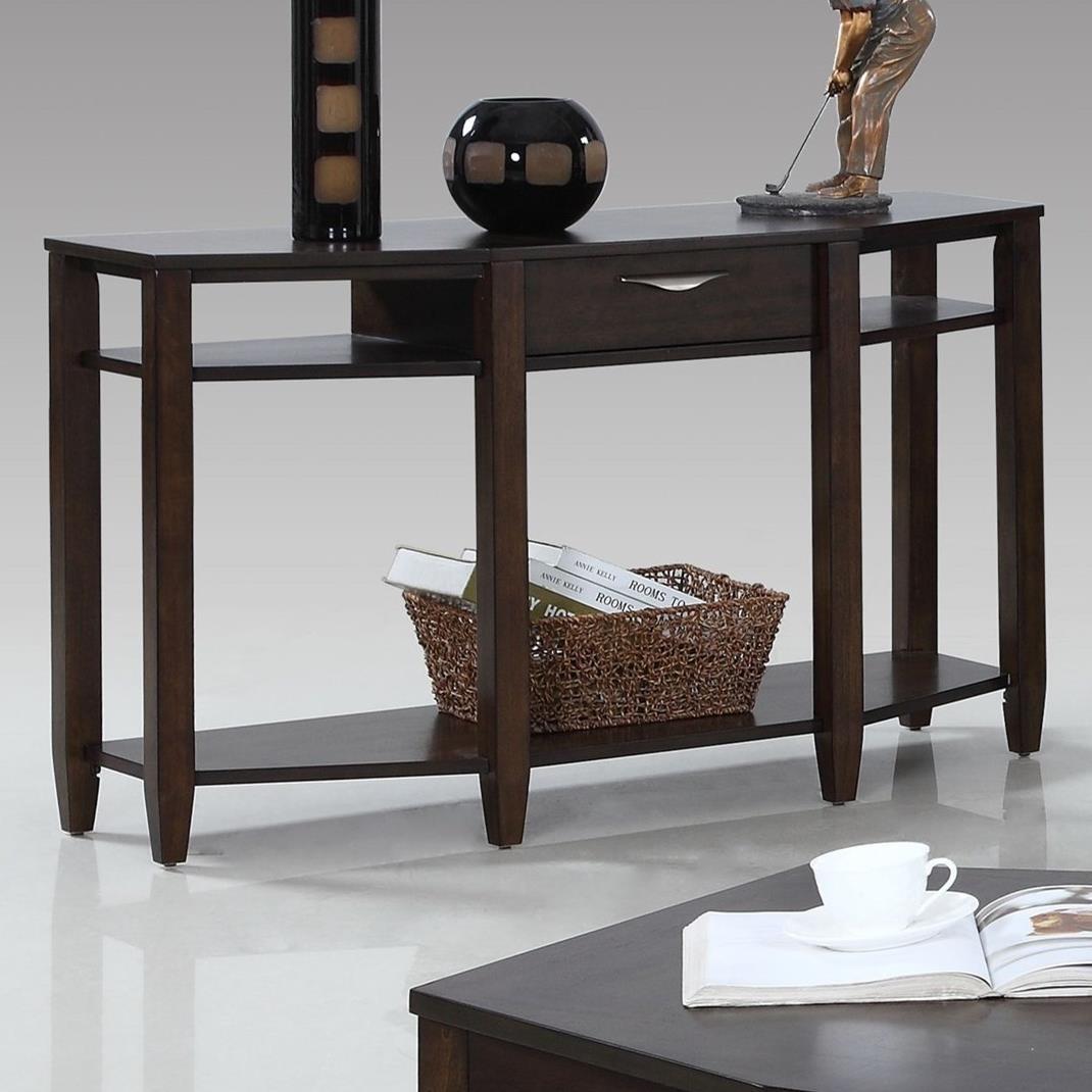 Progressive Furniture Paladium Sofa/Console Table - Item Number: T418-05
