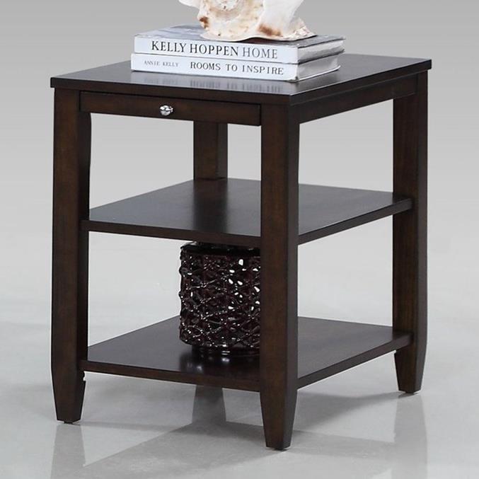 Progressive Furniture Paladium Chairside Table - Item Number: T418-29