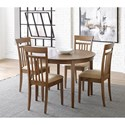 Progressive Furniture Palmer 5-Piece Table and Chair Set - Item Number: D868-10+4x63