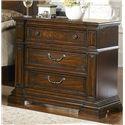 Progressive Furniture Regency Traditional 3 Drawer Nightstand - P166-44