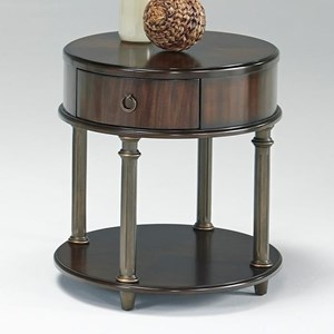 Round Chairside Table