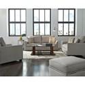 Progressive Furniture Remi Stationary Living Room Group - Item Number: U2041 Living Room Group