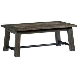Progressive Furniture River Court Rectangular Cocktail Table