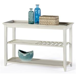 Progressive Furniture Sandpiper II Sofa/Console Table
