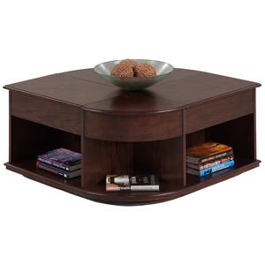 Progressive Furniture Sebring Castered Double Lift-Top Cocktail Table