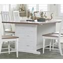 Progressive Furniture Shutters  Dining Table - Item Number: D884-10
