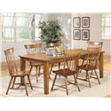 Progressive Furniture Summerhouse Duxbury Dining Side Chair - P802-61 - Chairs Shown with Table