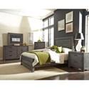 Progressive Furniture Theory Queen Bedroom Group - Item Number: B685 Q Bedroom Group