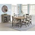 Progressive Furniture Toronto Dining Room Group - Item Number: D837 Dining Room Group 2