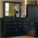 Progressive Furniture Torreon 11-Drawer Dresser - 61658-23 - Shown with mirror