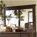 Progressive Furniture Trestlewood Landscape Mirror - P611-50