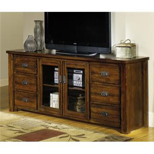"Progressive Furniture Trestlewood 74"" TV Console"
